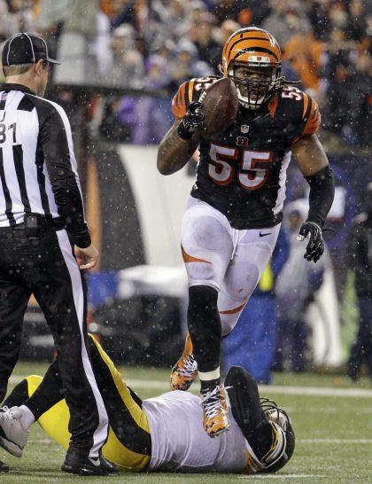 wholesale dealer 75481 ad94b Bengals' Vontaze Burfict has no f-bombs to give for Steelers