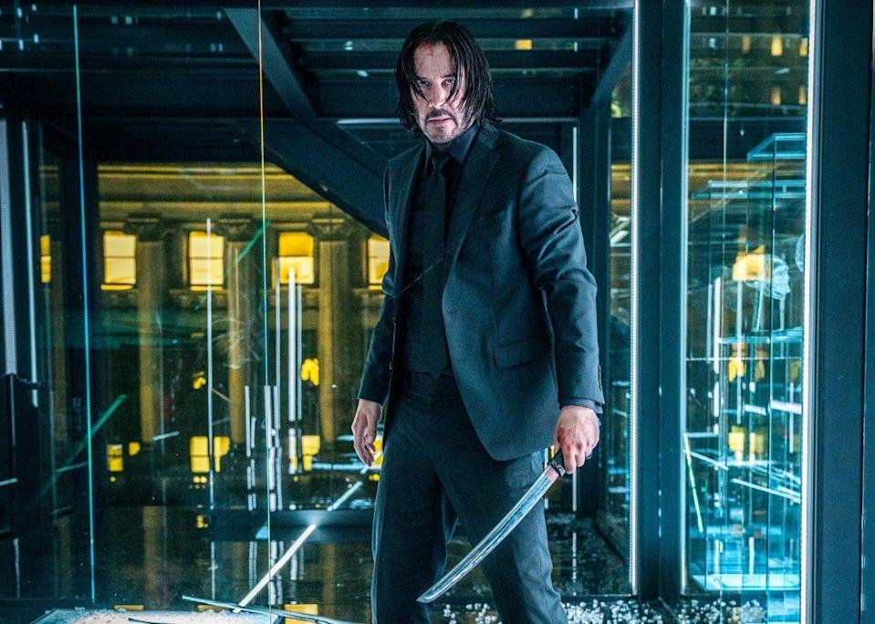 <p>The neo-noir actor franchise with Keanu Reeves at the forefront has garnered quite a cult following over the past three installments. While the plot of the much anticipated fourth entry in the <em>John Wick</em> franchise is being kept tightly under wraps, the film is slated to land in theaters May 27, 2022. But that's not all! A spin-off titled <em>Ballerina</em> is also in the works. John Wick universe anyone?</p>