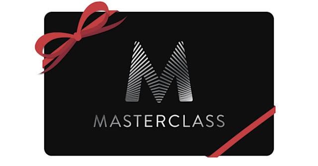 Email or print out a gift card. (Photo: MasterClass)
