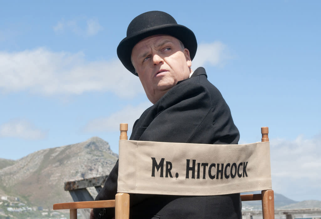 "Toby Jones stars as Alfred Hitchcock in ""The Girl"" on HBO."