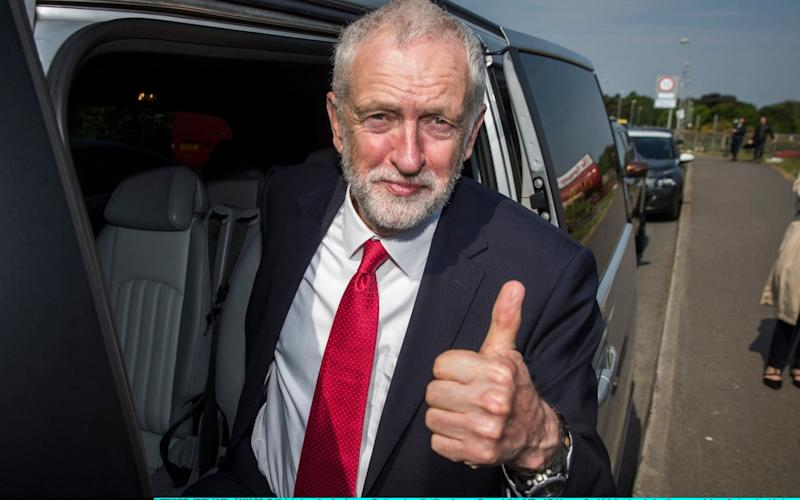 Labour leader Jeremy Corbyn - Getty Images Europe