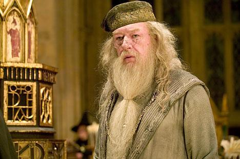 Iconic: Michael Gambon in character as Albus Dumbledore in Harry Potter