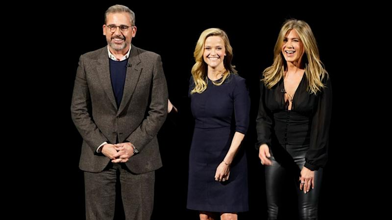 Apple Unveils 'The Morning Show' Trailer Starring Jennifer Aniston, Reese Witherspoon