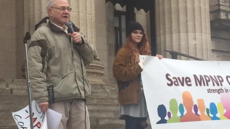 Changes to provincial nominee program draw protest at Manitoba legislature