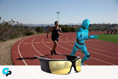 With GhostPacer's 3D avatar, runners can train with a virtual partner anywhere and anytime (PRNewsfoto/Ghost Pacer)
