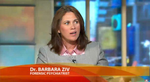 PHOTO: Dr. Barbara Ziv talks about a Pennsylvania gunman who killed three women and injured nine others during an appearance on ABC's, 'Good Morning America,' Aug. 6, 2009. (ABC)