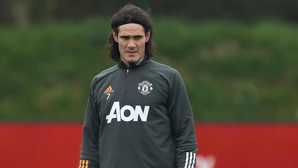 Manchester United forward Edinson Cavani banned for three matches