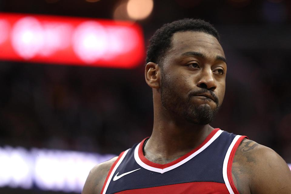 How will the Wizards stay afloat with John Wall sidelined for six to eight weeks? (Getty)