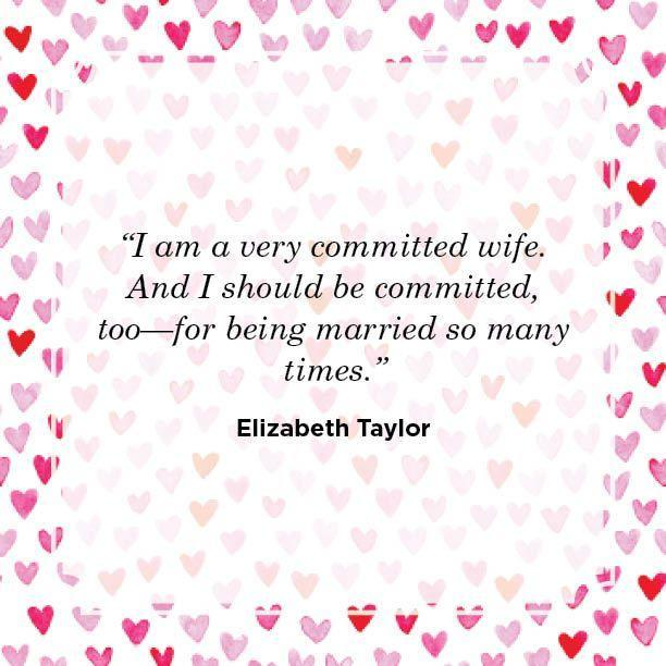 "<p>""I am a very committed wife. And I should be committed, too—for being married so many times.""</p>"