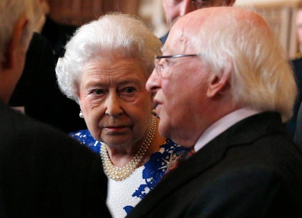 Foreign Affairs Minister Simon Coveney said the Irish Government consulted President Michael D Higgins on an invitation to attend a Northern Ireland centenary event but the decision to decline it was his own (Luke MacGregor/PA) (PA Archive)
