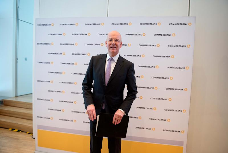 Commerzbank CEO to forgo bonus due to poor profits