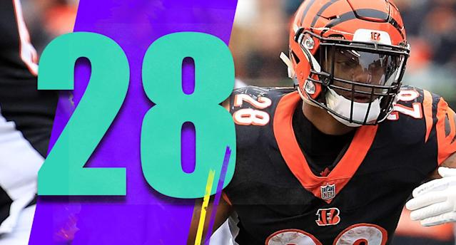 <p>Joe Mixon had 129 yards and two touchdowns for an offense that has no other weapon to worry about. Part of that is the Raiders defense stinks, but Mixon has been fantastic this season. (Joe Mixon) </p>