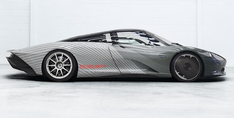 the mclaren speedtail's electric motor alone makes more power than a