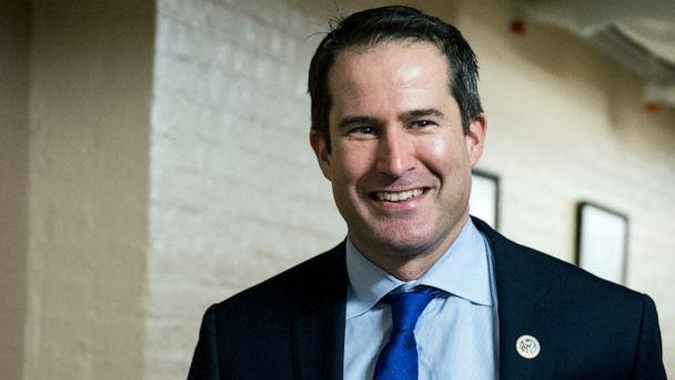 PHOTO: Seth Moulton arrives for the House Democrats' caucus meeting in the Capitol, Nov. 15, 2018, in Washington, DC. (Bill Clark/CQ-Roll Call,Inc./Getty Imnages, FILE)