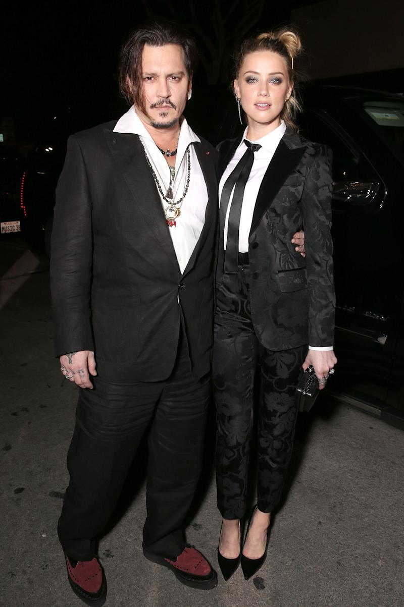 Depp and Heard in 2015 (Photo: Todd Williamson via Getty Images)