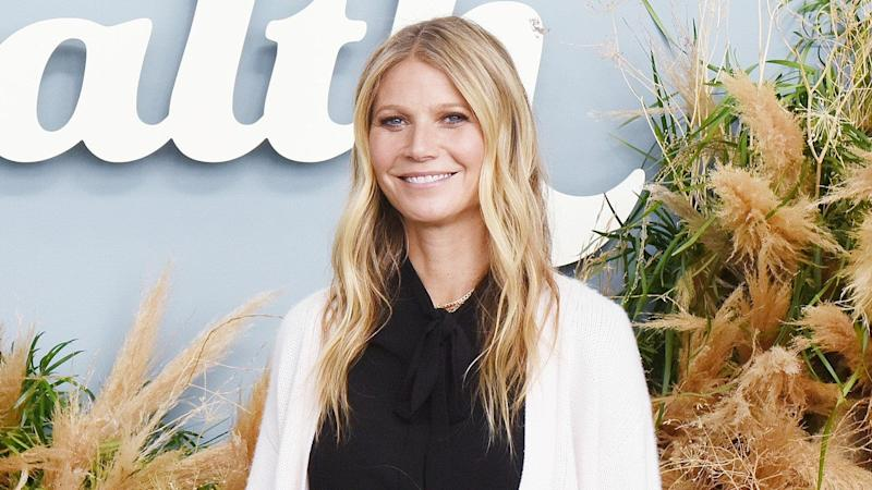 Gwyneth Paltrow Reunites With Ex Chris Martin, Poses Topless Solo in Sauna for 'Pre-Christmas Schvitz'