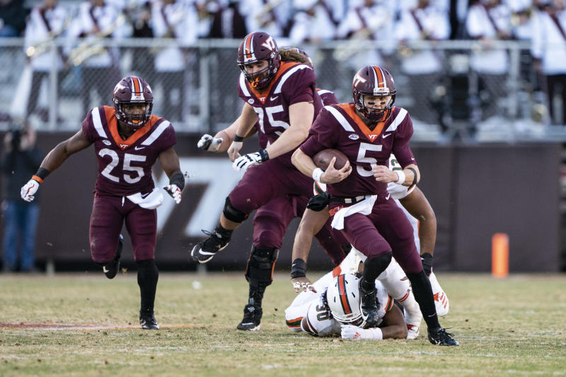 2 Virginia Tech Streaks Could Stay Alive Thanks To Tackle By Qb
