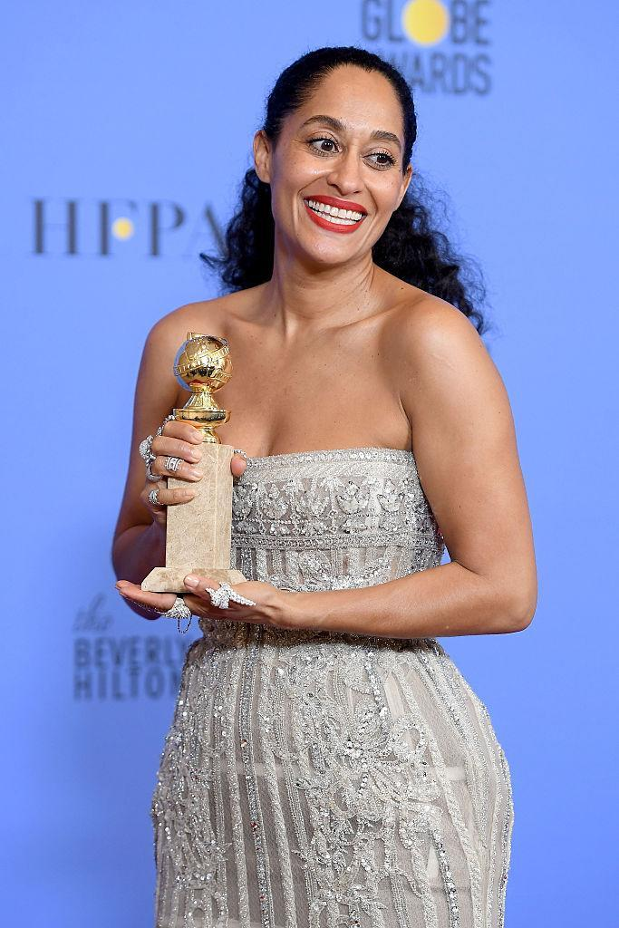 Tracee Ellis Ross won a Best Actress award for Black-ish. (Photo: Getty Images)