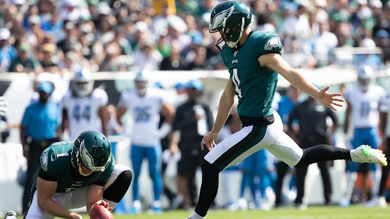 Jake Elliott wanted a shot at a 64-yarder, understands why he didn't get it