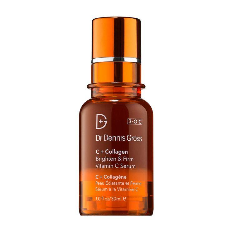 Dr. Dennis Gross Skincare C+ Collagen Brighten & Firm Vitamin C Serum, acne scar treatment