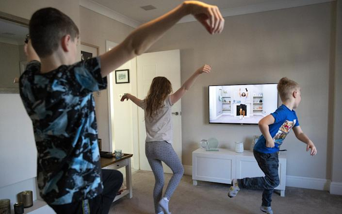 Children exercising - Alex Livesey/Getty Images Europe