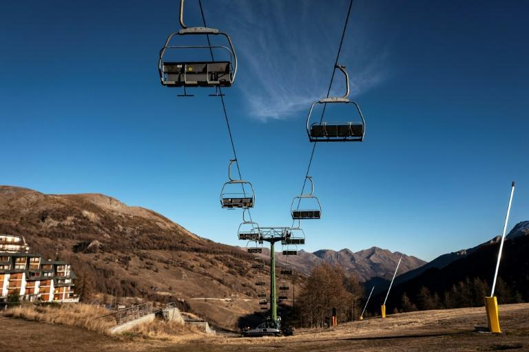 The pandemic has taken a huge toll on Italy's ski industry -- not least 2006 Olympic venue Sestriere