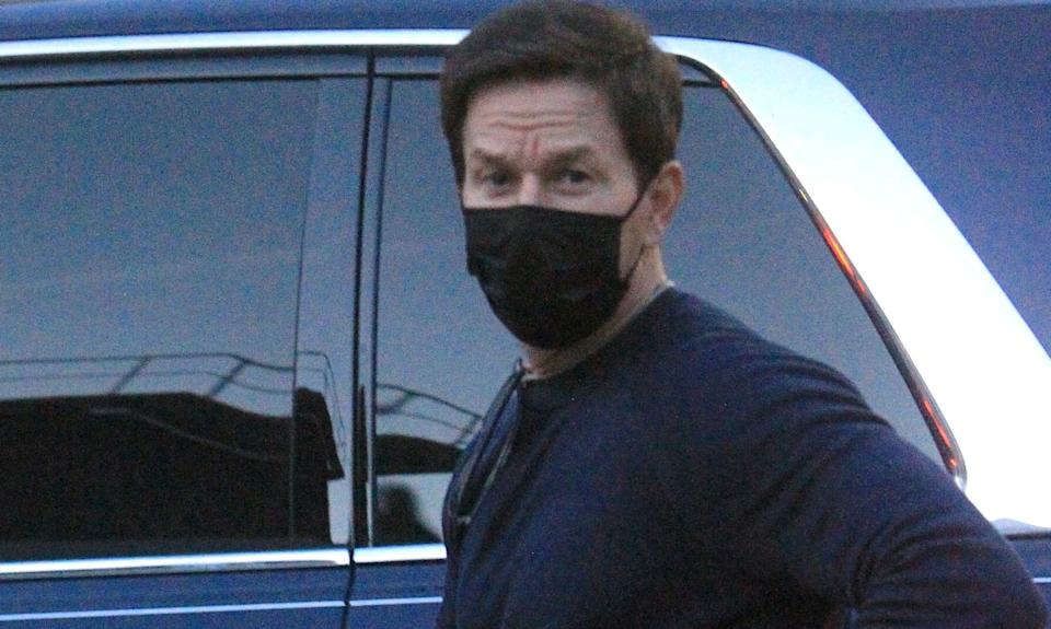 Actor Mark Wahlberg, seen here in Los Angeles last month, has flown into Australia and reportedly dodged hotel quarantine. More than 36,000 Australians are trying to get home while arrivals are capped at 4,000 people per week, according to the Department of Foreign Affairs and Defence. (Photo: GC Images)