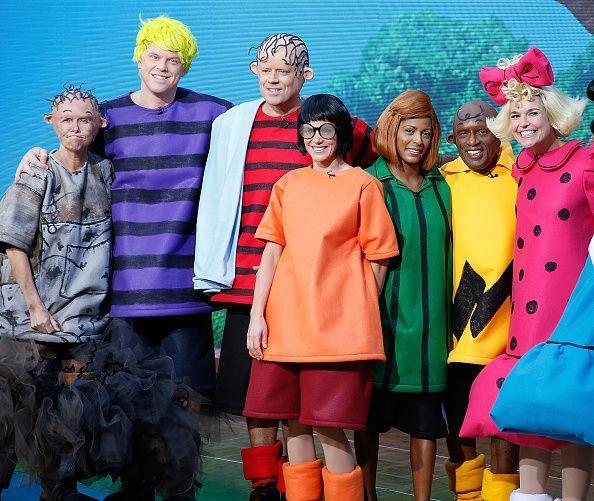 "<p><em>Today</em> viewers totally lost it over the morning show gang's Peanuts costumes in 2015. You had <a href=""https://www.goodhousekeeping.com/life/entertainment/a27324093/meredith-vieira-husband/"" rel=""nofollow noopener"" target=""_blank"" data-ylk=""slk:Meredith Vieira"" class=""link rapid-noclick-resp"">Meredith Vieira</a> dressed up as Pig Pen, Willie as Schroeder, Carson as Linus, Natalie as Marcie, Tamron as Peppermint Patty, Al as Charlie Brown, and Savannah as Sally. Good grief!</p>"