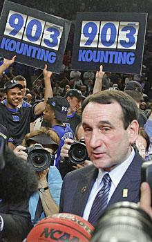 Mike Krzyzewski's 903 wins should be celebrated as a basketball achievement, not an indication of his greatness as a man