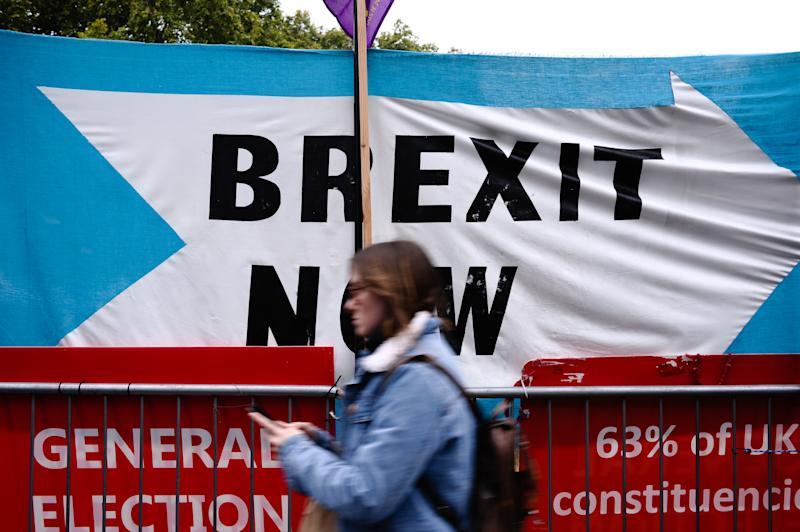 A new poll suggests 43% of voters want a no-deal Brexit if the EU refuses to budge on terms (Getty)