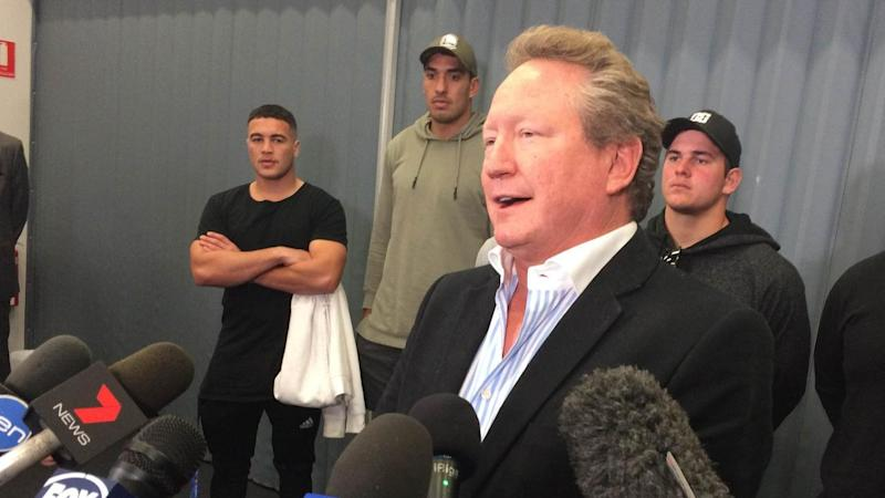 Billionaire Andrew Forrest has vowed to back the Western Force all the way
