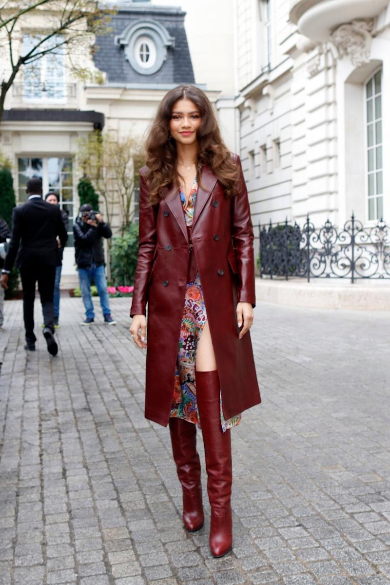 0925fe3b62898 Zendaya Is the First to Wear Her New Tommy Hilfiger Collection in Paris