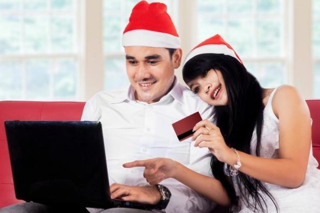 how to save money for christmas - online shopping