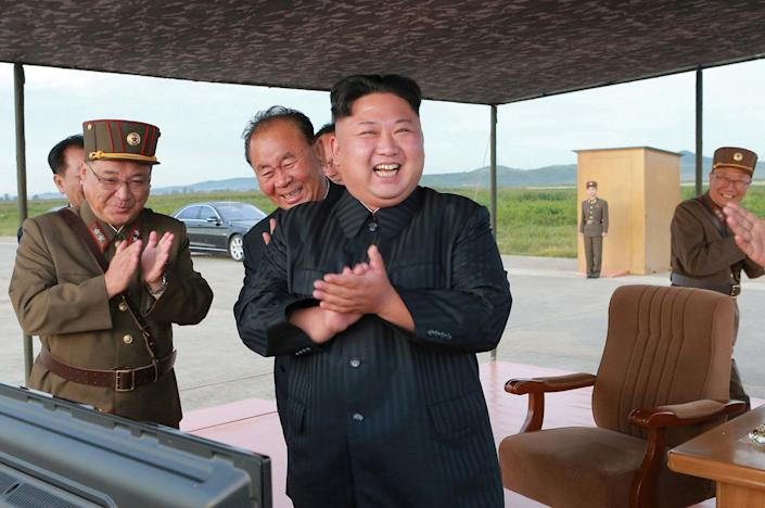 Kim Jong Un in an undated photo released byNorth Korea's news agency on Sept. 16, 2017. (Photo: KCNA KCNA / Reuters)