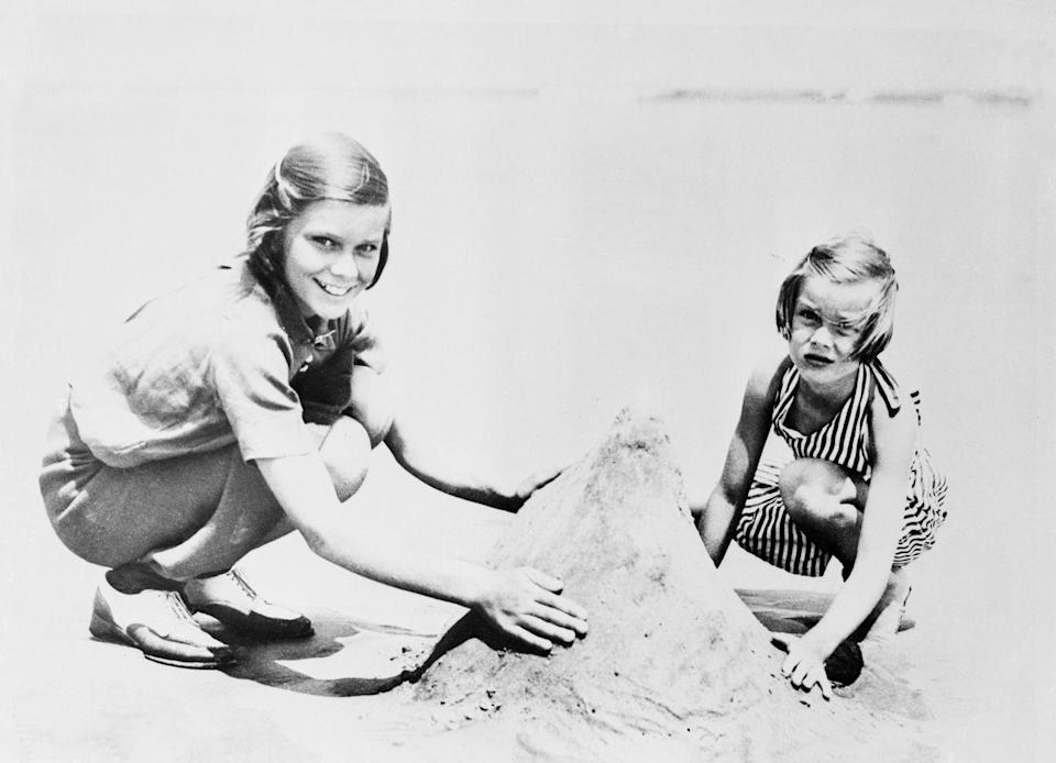 <p>The Hollywood starlet turned Princess of Monaco may have lived a lavish adult life full of elite power, but at her core, she was still the same 7-year-old girl who used to play in the sand on the beach.</p>