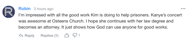 Yahoo readers react to Kim Kardashian's comments about Rodney Reed case