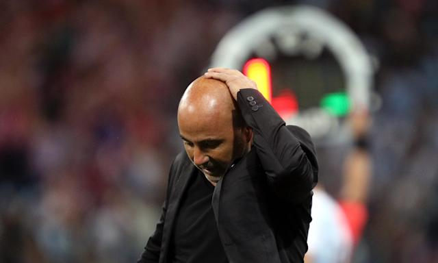 Jorge Sampaoli took the blame for Argentina's 3-0 defeat against Croatia.