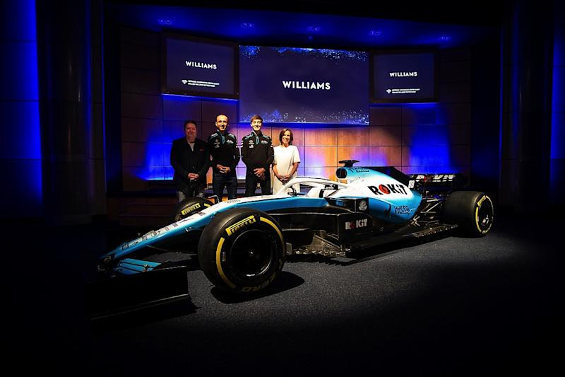 Williams unveils new livery and sponsor for 2019