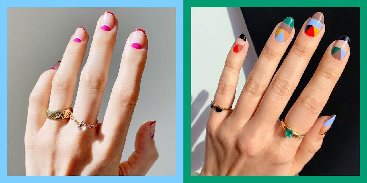 """<p>I feel like the only reason I have Instagram at this point is to find inspo-worthy nail designs. Seriously, my saved folder is basically just nail porn—but I can't help it! My latest <a href=""""https://www.cosmopolitan.com/style-beauty/beauty/a30172434/manicure-types-guide/"""" target=""""_blank"""">manicure</a> obsession? Gel nail designs that are cool enough to bring my sad, wintery hands back to life. I've currently found about 8,000 options, but I narrowed it down to the <strong>20 best gel nail designs you can (and should) bring straight to the <a href=""""https://www.cosmopolitan.com/style-beauty/beauty/g30352216/best-nail-salons-nyc/"""" target=""""_blank"""">salon</a></strong>. Dibs on number three. And five.</p>"""