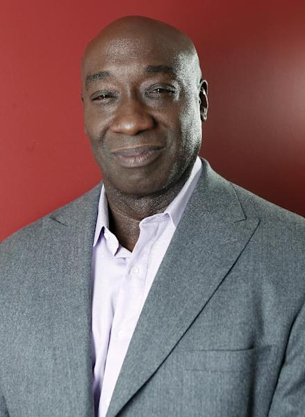 FILE - This Jan. 11, 2012 file photo shows actor Michael Clarke Duncan in New York. Duncan has been hospitalized in Los Angeles after a heart attack. Publicist Joy Fehily says in a brief email statement that the 54-year-old actor suffered a myocardial infarction early Friday, July 13, 2012. She says his heart rate has stabilized and he's expected to make a full recovery. (AP Photo/Carlo Allegri, file)