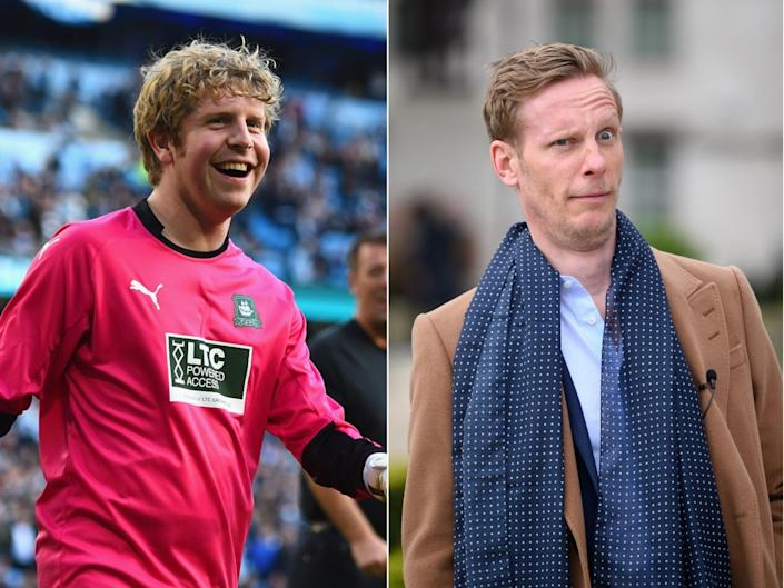 Comedian Josh Widdicombe mocked Laurence Fox for his stance on England players taking the knee (Getty)