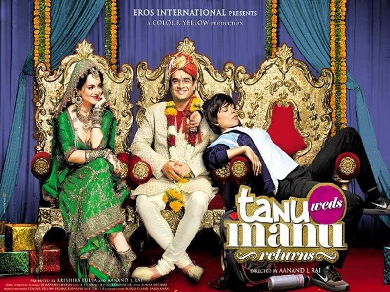 Official poster of the film, 'Tanu Weds Manu Returns'