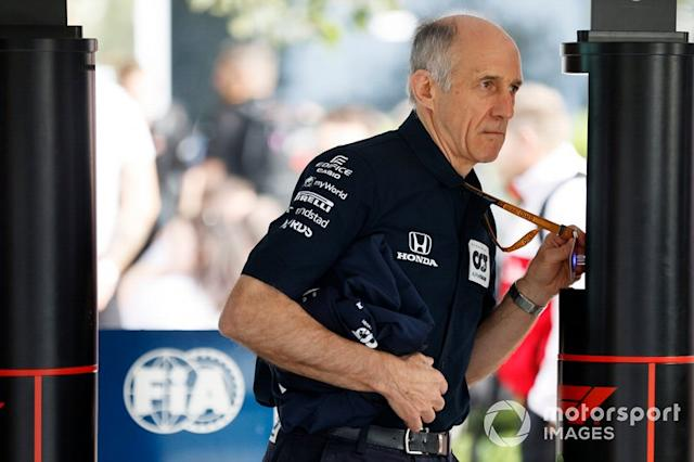 "Franz Tost, director del equipo, AlphaTauri <span class=""copyright"">Andy Hone / Motorsport Images</span>"