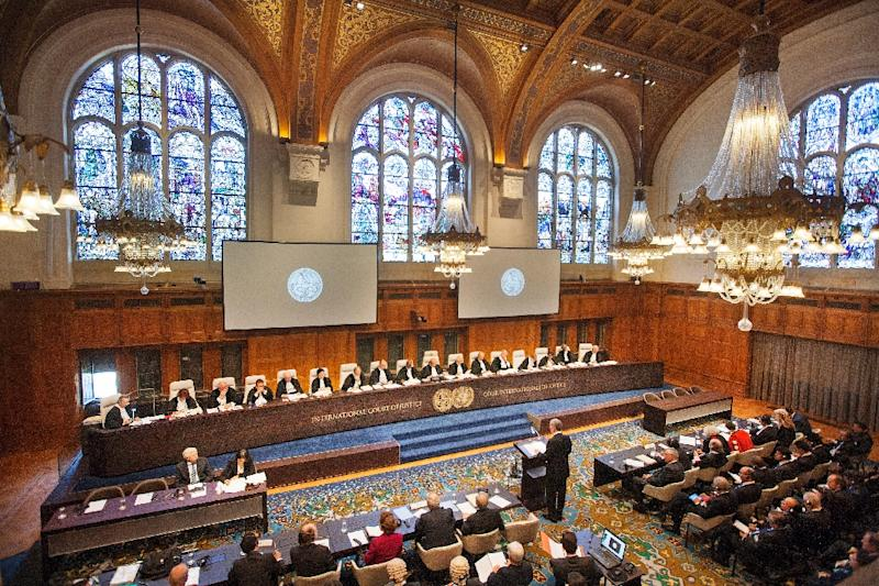 Based in The Hague, the International Court of Justice was set up in 1945 to rule on border and territorial disputes between nations