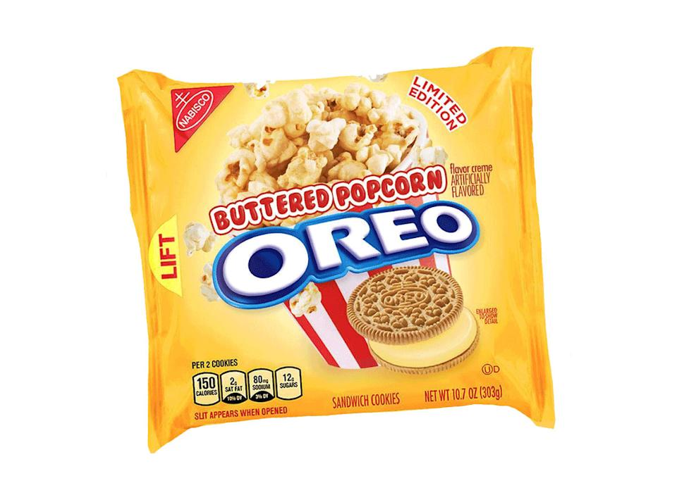 buttered popcorn oreo pack limited edition