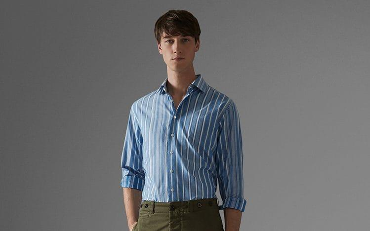 Thomas Pink's shirts embrace an easier style