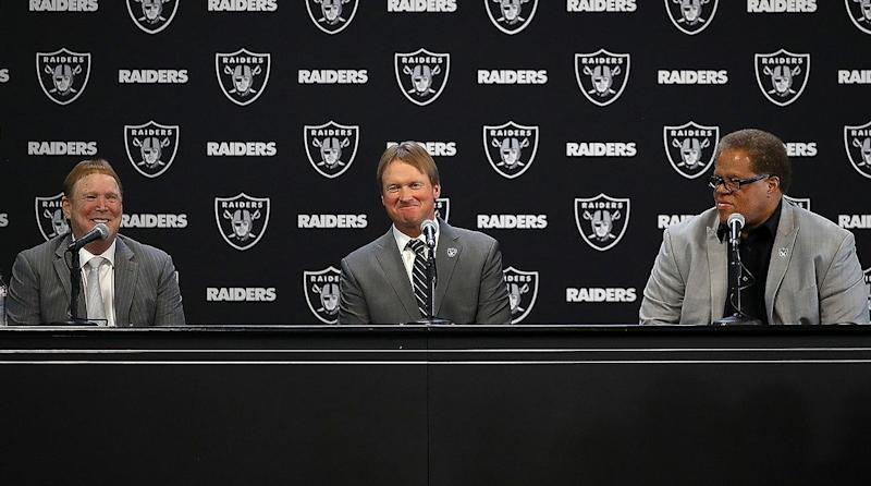 Jon Gruden named as Raiders new head coach