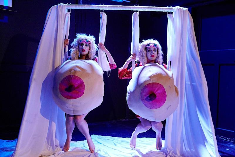 Great pair: Sh!t Theatre explore the myth of Dolly Parton