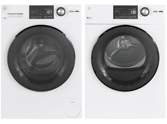GE Front Load Steam Washer and Electric Dryer (Photo via Best Buy Canada)