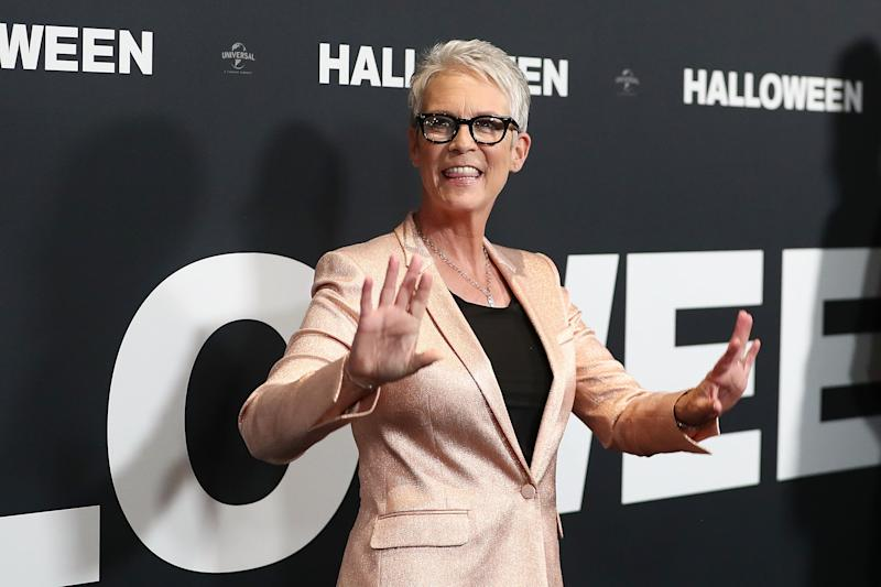 SYDNEY, AUSTRALIA - OCTOBER 23: Jamie Lee Curtis attends the Australian Premiere of Halloween at Event Cinemas George Street on October 23, 2018 in Sydney, Australia. (Photo by Mark Metcalfe/Getty Images)